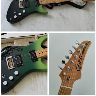 Quest ATAK 2 - A2, Matsumoku 1982 1982 Green Sun (greenburst) for sale