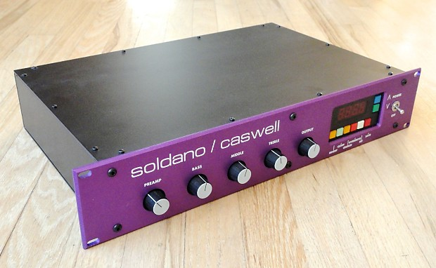 soldano caswell x99 rackmount guitar tube preamp midi reverb. Black Bedroom Furniture Sets. Home Design Ideas