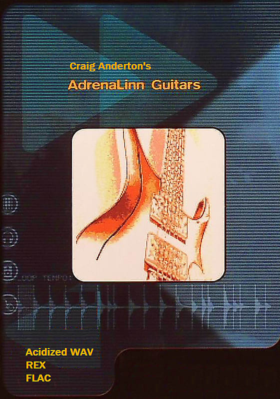 AdrenaLinn Guitars Loop Library by Craig Anderton