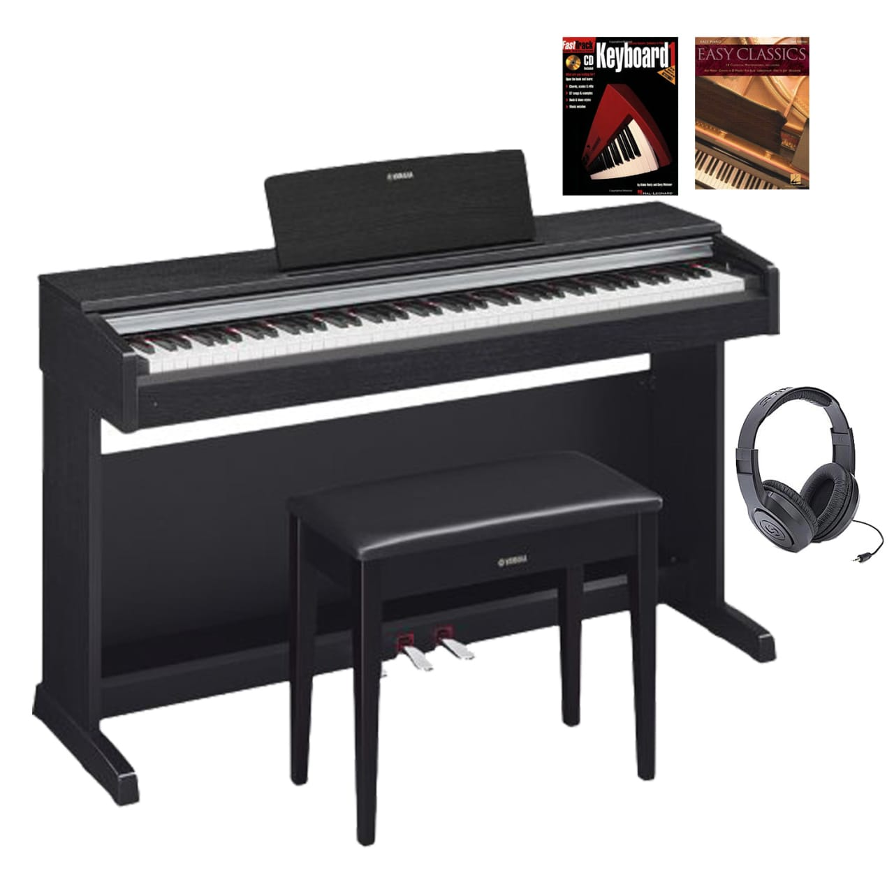 Yamaha ydp142b traditional console digital piano with for Yamaha console piano prices