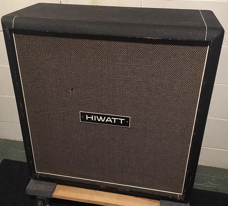 vintage hiwatt 4x12