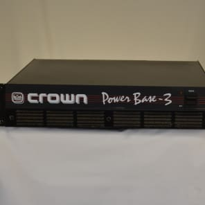 Crown Power Base 3 2-Channel Power Amplifier