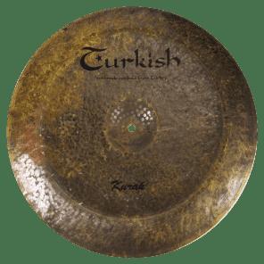 """Turkish Cymbals 19"""" Custom Series Kurak China K-CH19"""