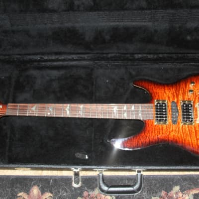Brian Moore MC-1 USA Custom Shop upgraded by Brian Moore to Graph Tech Hexpander Custom Mahogany for sale