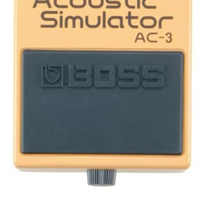 Boss AC-3 Acoustic Simulator Guitar Effects Pedal AC3 for sale