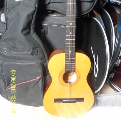Vintage Encore ENC36N 3/4 scale classical guitar with padded case for sale