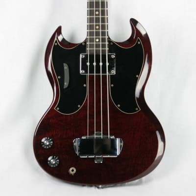 RARE 1969 Gibson EB-0 LEFT-HANDED Bass w OHSC! Double-Pickguard Lefty! Vintage