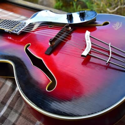 Astro  Archtop 1959 Black Rose for sale