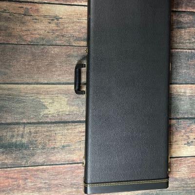 Used Schecter 20th anniversary Hardshell Guitar Case- Black Tolex