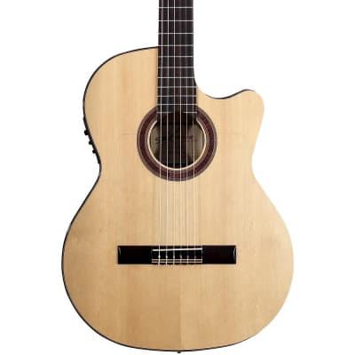 Kremona Rosa Luna Flamenco Acoustic-Electric Nylon Guitar Regular Natural for sale