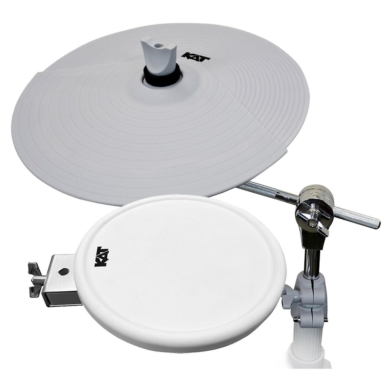 KAT Pad//Cymbal Expansion Pack Bundle Set for the KT2 Digital//Electronic Drum Kit