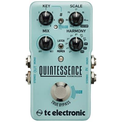 TC Electronic Quintessence Harmonizer Effect Pedal