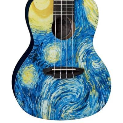 Luna Ukulele Starry Night Concert w/Gig bag