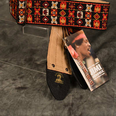 Dunlop JH-01 Jimi Hendrix Woodstock Festival Limited Ace Guitar Strap FREE Same Day Shipping