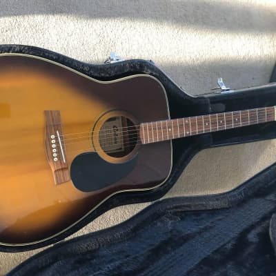 Antoria  sunburst acoustic 70's sunburst for sale
