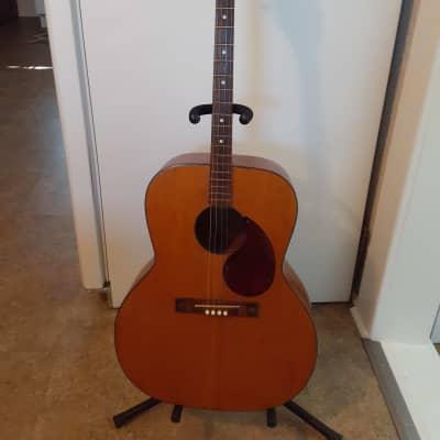 Silvertone Tenor Acoustic Vintage guitar 1960's Natural