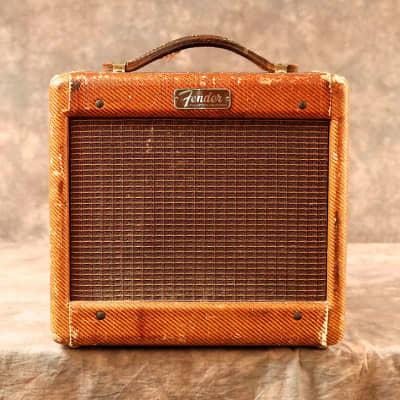 "Fender Champ 5E1 Narrow Panel 5-Watt 1x6"" Guitar Combo 1955 - 1956"