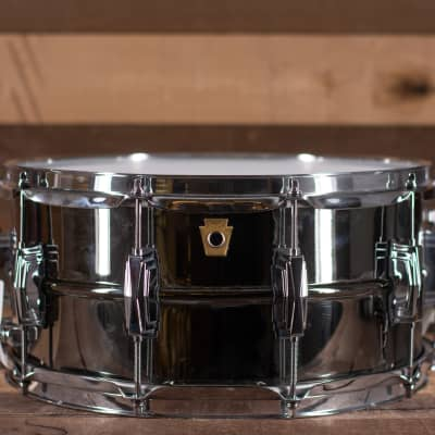 Ludwig Black Beauty,  Smooth Shell with Imperial Lugs,   6.5 x 14