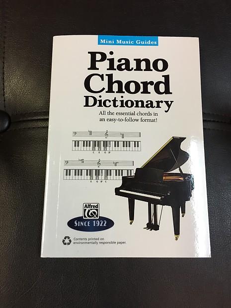 Mini Music Guides Piano Chord Dictionary Napa Music Supply Reverb