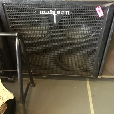 Madison  4x12 speker cab for sale