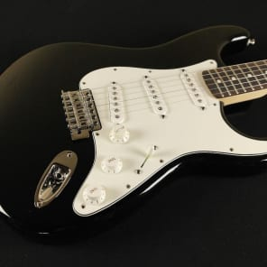 Fender Standard Stratocaster - Rosewood Fingerboard - Black - No Bag (884) for sale