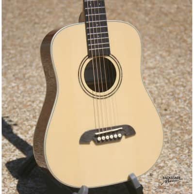 Alvarez Travel-Size Dreadnought-Style Acoustic Guitar With Padded Gig Bag (NEW) for sale