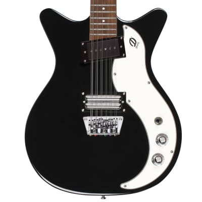 Danelectro '59X 12 STRING Double Cutaway Electric Guitar | Black