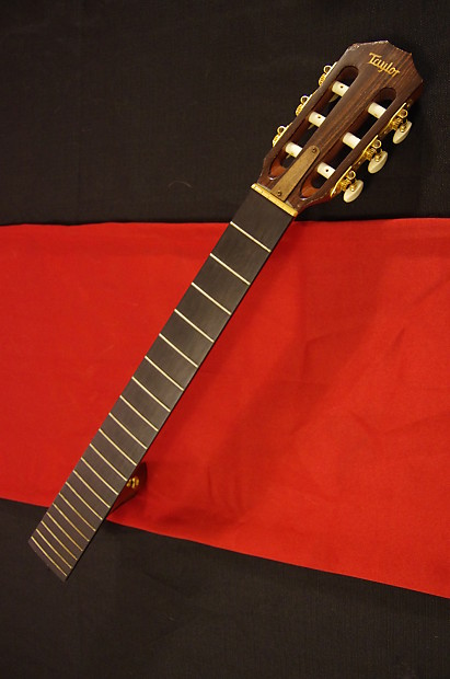 taylor nylon string guitar neck ebony fretboard reverb. Black Bedroom Furniture Sets. Home Design Ideas