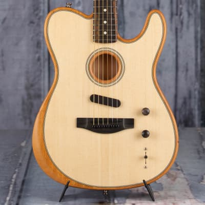 Fender American Acoustasonic Telecaster Acoustic/Electric, Natural for sale