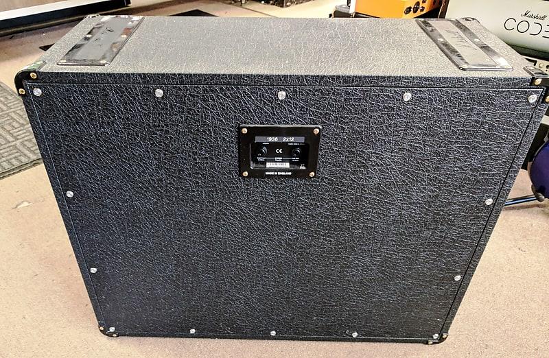 marshall 1936 150 watt 2x12 stereo extension cabinet reverb. Black Bedroom Furniture Sets. Home Design Ideas