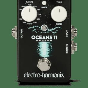Electro-Harmonix Oceans 11 Multi Function Reverb Pedal