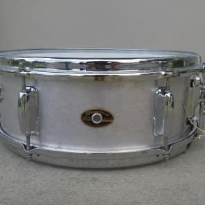 "Slingerland No. 140 Student Model 5x14"" 6-Lug Aluminum Snare Drum 1960s"