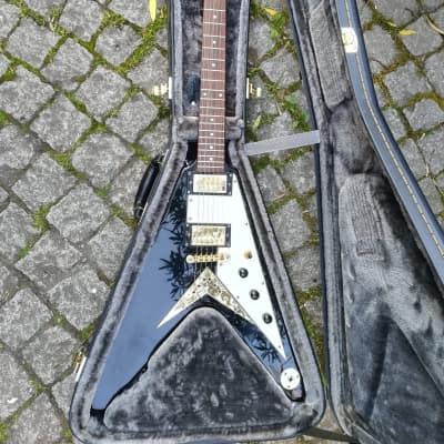 Epiphone Korina Flying V 2004 Ebony (Upgraded) for sale