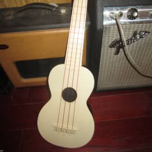Vintage Circa 1965 Maccaferri TV Pal Soprano Ukulele for sale