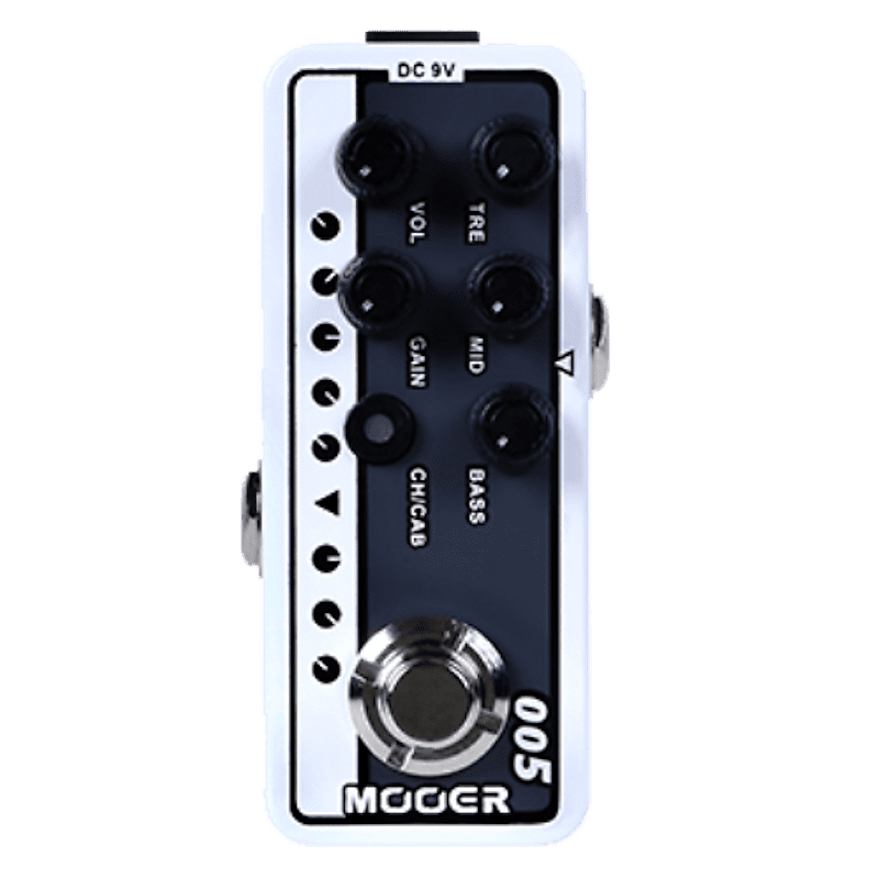 Mooer Micro PreAmp 005 Brown Sound 3 EVH 5150  Guitar Effects Pedal Footswitch Stompbox Ships Free image