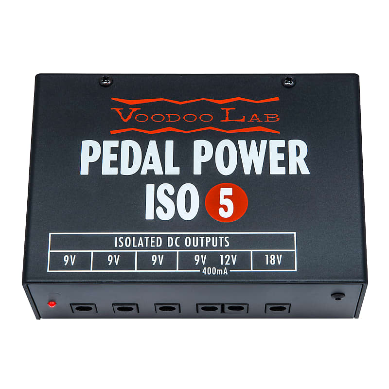 Voodoo Lab Pedal Power ISO-5 5-Output Isolated Effects Pedal Power Supply