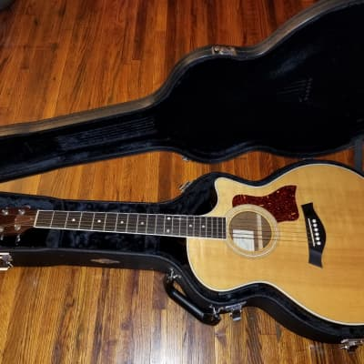 Taylor 414ce Acoustic Electric Concert Cutaway Guitar 1999 Natural Made In The USA El Cajon Garrison Preamp for sale