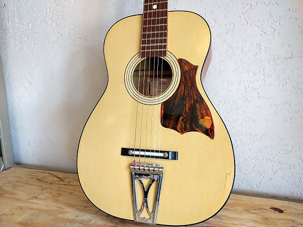 vintage harmony h6128 stella acoustic guitar reverb. Black Bedroom Furniture Sets. Home Design Ideas