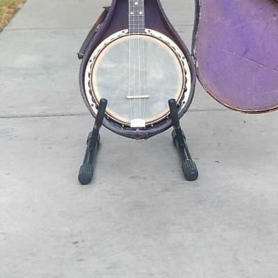 Ultra Rare Antique Limited Artist Edition Stromberg-Voisinet Soprano Banjo Ukulele Banjolele for sale