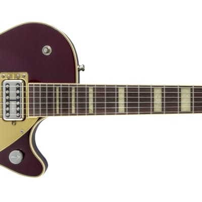 Gretsch G6228 Players Edition Jet™ BT with V-Stoptail, Rosewood Fingerboard, Dark Cherry Metallic Electric Guitar 2413400839
