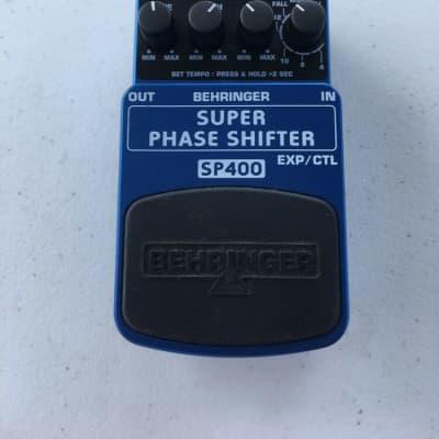 Behringer SP400 Super Phase Shifter Phaser Rare Guitar Effect Pedal