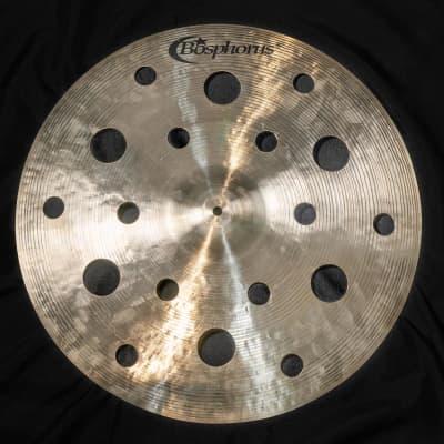 "Bosphorus 22"" 18-Hole Prototype FX Crash/Ride Cymbal *Store Demo*"