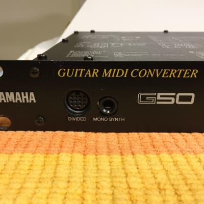 Yamaha G50 Guitar/Bass MIDI Converter Synth Controller