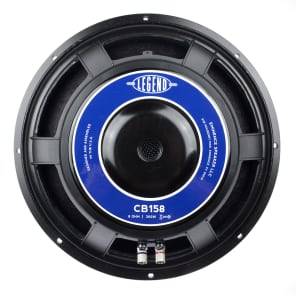 "Eminence Legend CB158 15"" 300w 8 Ohm Replacement Speaker"