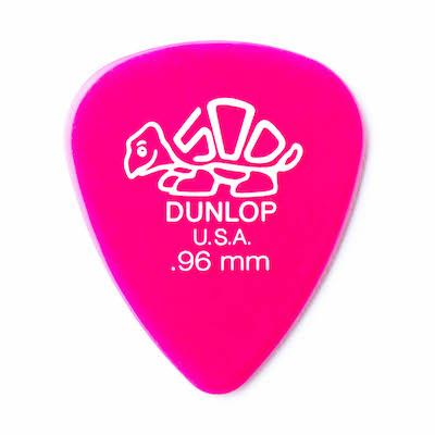 Dunlop Delrin 500 Guitar Pick .96mm Dark Pink pack of 72