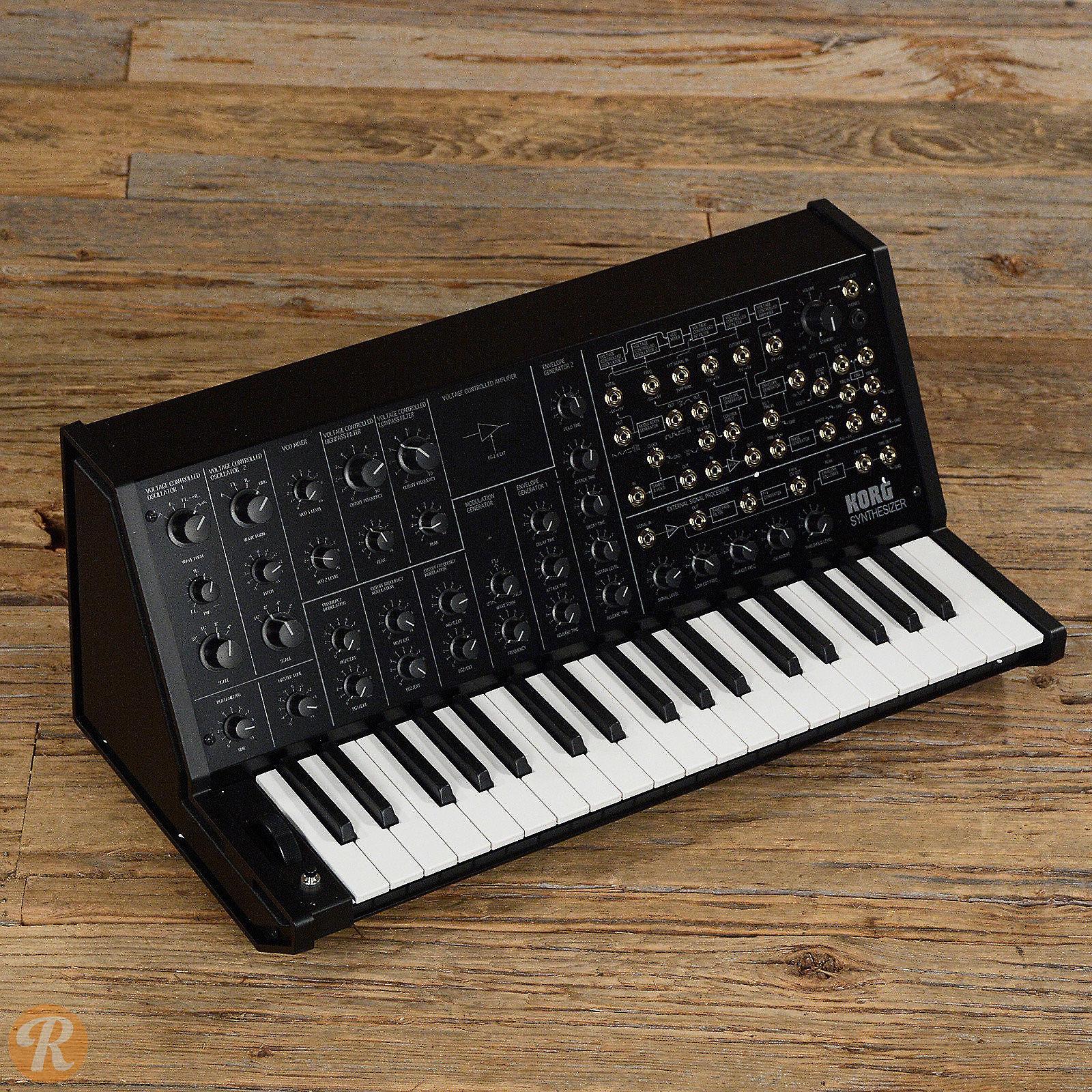 korg ms 20 mini semi modular analog synthesizer reverb. Black Bedroom Furniture Sets. Home Design Ideas