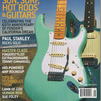 Guitar Player-Magazine January, 2007