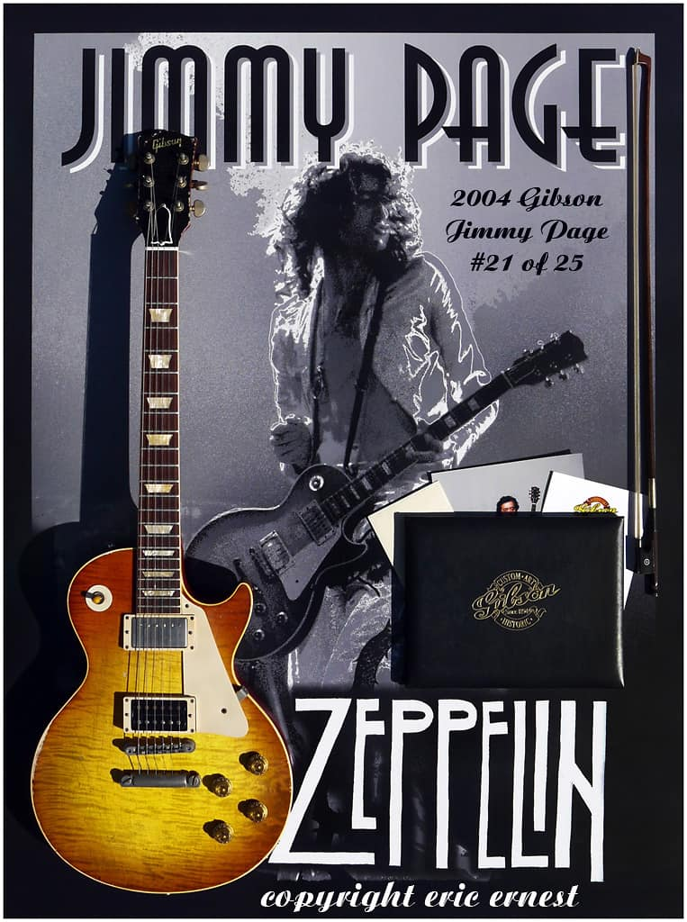 2004 gibson custom 1959 les paul jimmy page 21 historic for Jimmy page les paul color