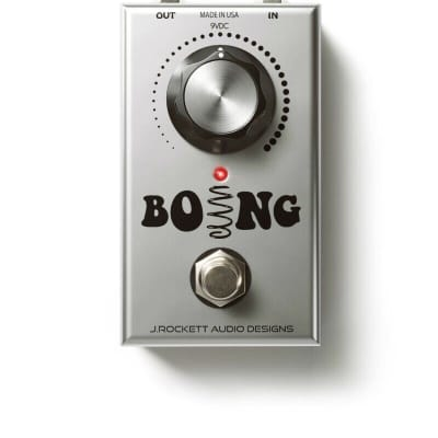 J. Rockett Audio Designs Boing Spring Reverb Guitar Effect Pedal - Brand New for sale