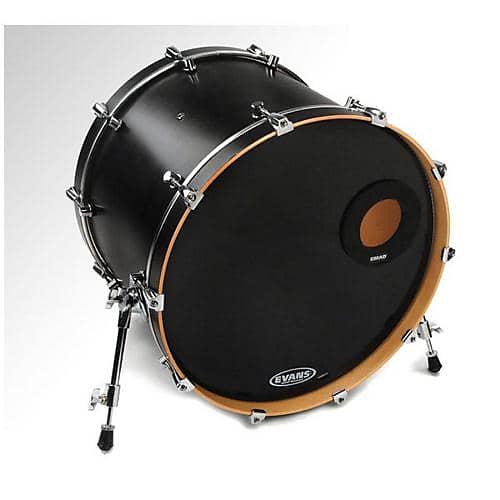 evans emad resonant bass drum head black 22 reverb. Black Bedroom Furniture Sets. Home Design Ideas